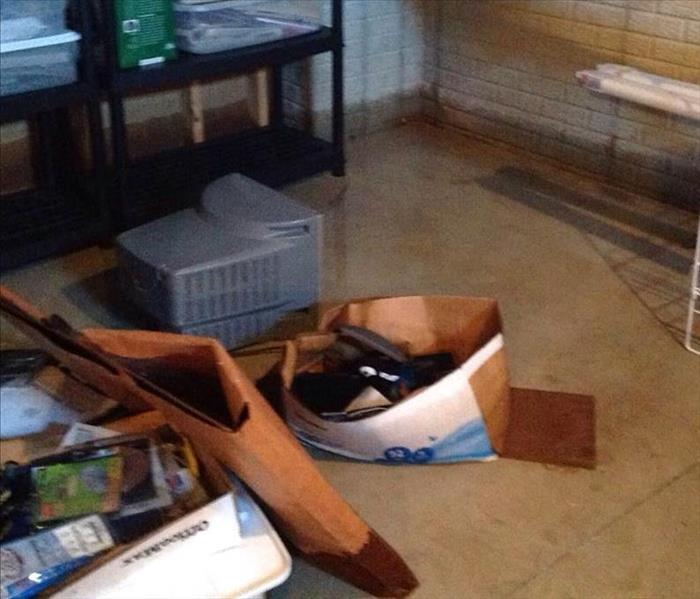 Water Damage Flooded basement in Fostoria